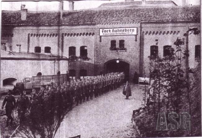 15. Kompanie, Fort Hahneberg