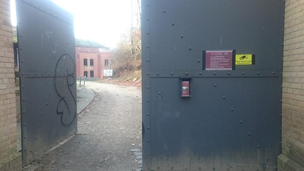 Videoüberwachung im Fort, Dezember 2016