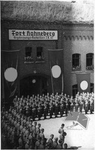 Vereidigung im Fort Hahneberg